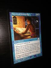 MTG MAGIC WEATHERLIGHT ANCESTRAL KNOWLEDGE (ENGLISH CONNAISSANCE ANCESTRALE) PL