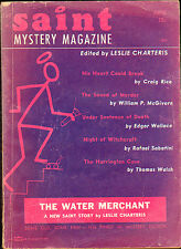 THE SAINT MYSTERY MAGAZINE June 1959 in Very Good+ condition