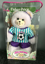 2000 Fisher Price Briarberry Berrynicole Bear Purple Berry Nicole Soccer New