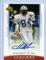 2006 Upper Deck NFL Legends Legendary Signatures #24 Herman Moore Autograph