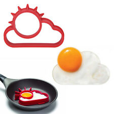 Silicone Fried Egg Mould Sun Cloud Shaper Breakfast Pancake Kitchen Tool