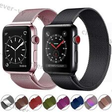 Metal Magnetic Milanese Band Strap for Apple Watch Series 5 4 3 2 1 38 40 42 44