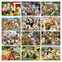 DIY 5D Diamond Painting Animals World Cats And Dogs Cross Stitch Kits Home Decor