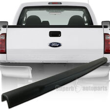 2008-16 Ford F250 350 450 SuperDuty Black Tailgate Cap Molding Protector Cover