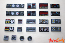 LEGO STAR WARS, Schaltpult, Bildschirm, 22 LEGO®-Teile, Fliese, Slope, bedruckt