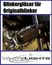 Noir Verres de Clignotants Yamaha XJ600 Honda/XJ 600 S Diversion, Fumé signal