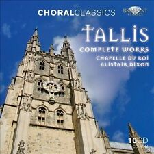 Tallis: Complete Works (CD, Oct-2011, Brilliant Classics)