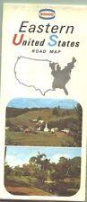 1967 Sohio Eastern US Vintage Road Map