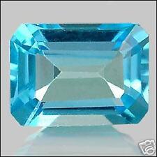 1,60 ct London Blue Topaze - Emerald cut - VVS - Brazil