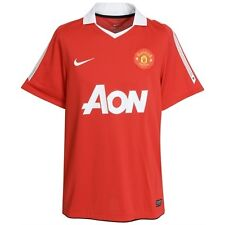 Manchester United 2010/11 Soccer Home Jersey SS XL EPL