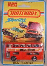 "Matchbox SF Nr.17B The Londoner ""Matchbox 1953-1978"""