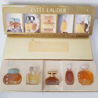 Vintage 1980s  Miniature Perfumes Set Estee Lauder