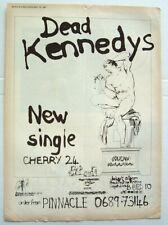DEAD KENNEDYS 1981 POSTER ADVERT CHERRY RED FRESH FRUIT FOR ROTTING VEGETABLES