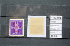 STAMPS ITALY LOCAL POST CLN BARGE SASSONE N°A16 SIGNED MNH** (F104900)