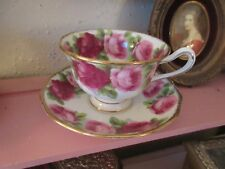 Vintage Royal Albert Cup and Saucer English Rose Pattern Shabby Cottage