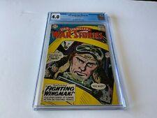 STAR SPANGLED WAR STORIES 78 CGC 4.0 USAF FIGHTING WINGMAN DC COMICS 1959