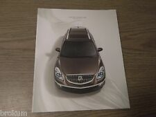 MINT 2009 BUICK ENCLAVE 38 PAGE SALES BROCHURE NEW (R-75 / O)
