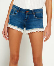 Superdry Womens Lace Hot Shorts