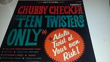 CHUBBY CHECKER - TEEN TWISTERS ONLY - PARKWAY 7009 LP