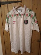 Wales Away football shirt Retro Welsh Football Jersey 1990's Medium NEW