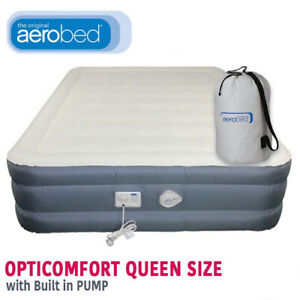 AEROBED OPTICOMFORT (DOUBLE HEIGHT) QUEEN AIR INFLATABLE BED MAT 1394090