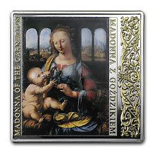 2014 Niue Silver Renaissance Masterpieces (Madonna of Carnation) - SKU #87073
