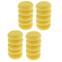 20Pcs Stamping Inking Round Synthetic Artist Paint Sponge Craft for Painting
