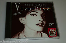 MARIA CALLAS VIVA DIVA KLASSIK CD ( AIDA - TOSCA - CARMEN - NORMA - RIGOLETTO ..