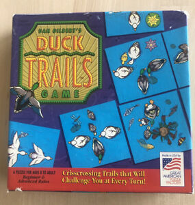 Vintage Duck Trails Game By Dan Gilbert Puzzle 1994 Complete!