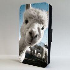 Alpaca Funny Lama Face Animal FLIP PHONE CASE COVER for IPHONE SAMSUNG