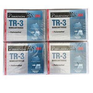 TR3 3M Imitation 1.6/3.2GB Cartridge For Travan Tape Drive Sealed x4