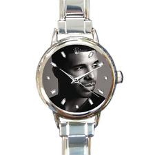 Reloj Pulsera Drake italiano de Dijes Música R N B Pop 16 enlaces ajustable incluido!