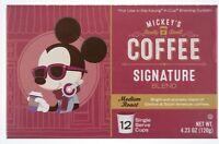 Disney Parks Mickeys Really Swell Coffee Signature Med Roast 12 Svg Kcups Kuerig