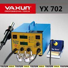 Yaxun 702 2in1 Control Hot Air & Soldering Station LCD TEMP BGA REWORK STATION