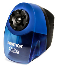 Office School Bostitch Classroom Electric Pencil Sharpener, 6-Holes, Blue, New