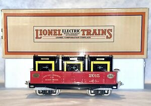 MTH 11-30191 Lionel Corp. Tinplate Standard Gauge 212 Gondola W Containers TCA
