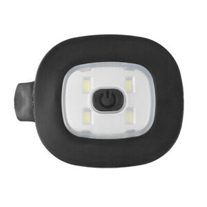 4 LED USB Rechargeable Replacement Light for DIY Fishing Camping Beanie Hat UK