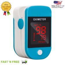 OLED  Finger Pulse Oximeter SPO2 PR PI Respiration Rate Blood Oxygen Monitor FDA