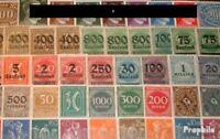 Deutsches Reich 75 verschiedene Marken