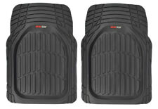 Motor Trend 100% Odorless Heavy Duty All-Weather Floor Mats - 2 Front Mats