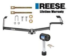 Reese Trailer Hitch For 06-15 Honda Civic Coupe Sedan Si Hybrid w/ Receiver Lock