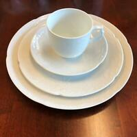 "Kaiser West Germany ""Dubarry"" White Tea Service Dinnerware"