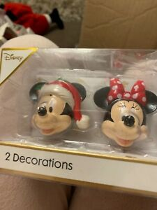 Disney  Mickey and Minnie Christmas tree decorations   from primark