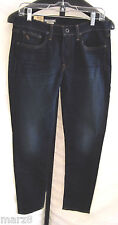 NWT Ralph Lauren Skinny Blue Jeans Misses Size 29 (Size 8) Stretch denim