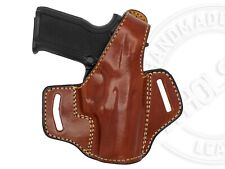 OWB Thumb Break Leather Belt Holster Fits Smith & Wesson SD40