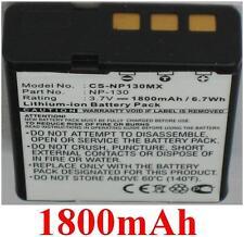 Batterie 1800mAh type NP-130 NP-130A Pour CASIO Exilim Hi-Zoom EX-H30BK