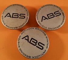 (3) ABS CENTER CAP # 10207641  SILVER  WHEELS  CENTER CAP