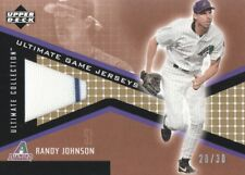 2002 Ultimate Collection Game Jersey Tier 2 Gold #JF-RJ Randy Johnson 20/30