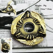 Hand Spinners Japanese Gold Crossfire Dragon Claw 3 Blades Star Ninja Shuriken