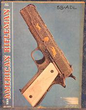 Vintage Magazine American Rifleman, MAY 1956 IVER JOHNSON Model 57 .22 REVOLVER